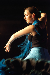 image of Julia dancing